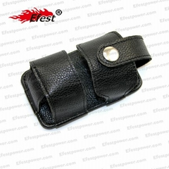 Leather material holster leather holster for flashlight holster