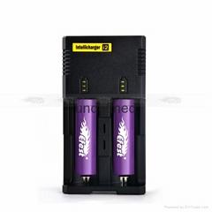 Nitecore Sysmax i2 18650 CR123A 16340 AA AAA Ni-MH Rechargea
