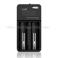LCD display 18650 battery charger 2 slot portable smart  charger