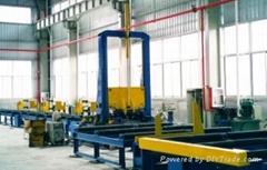 steel H beam auto-assembling machine