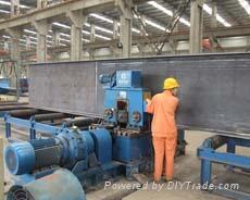 steel H beam straightening machine