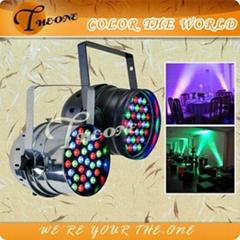 3W*36pcs stage light par64,High power led par 64,indoor RGB music stand lighting