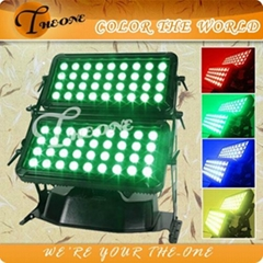 New Product !!72X10W LED Outdoor Building Light,DMX City Color Stage