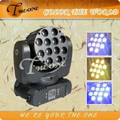 12*10W led spot moving head,4in1 Cree led lighting,Popular intelligent lighting