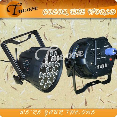 Wireless Remote Control 24X15W 5IN1 RGBWA LED Par Can/Wireless Stage Lighting  1