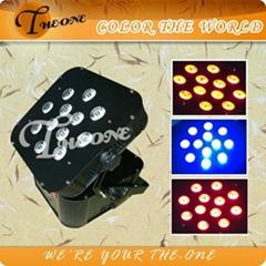 TH-250 12*15W Chargeable Battery Par Light/Remto control/Wireless Flat Par Can