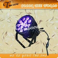 14pcsx17W RGBWA+UV 6in1 Waterproof LED Par Light/UV Light/Night Club Black Light