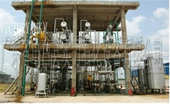 extraction plant for fuel oil from waste tyre