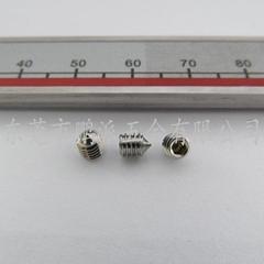 不锈钢内六角尖端机米M3*3