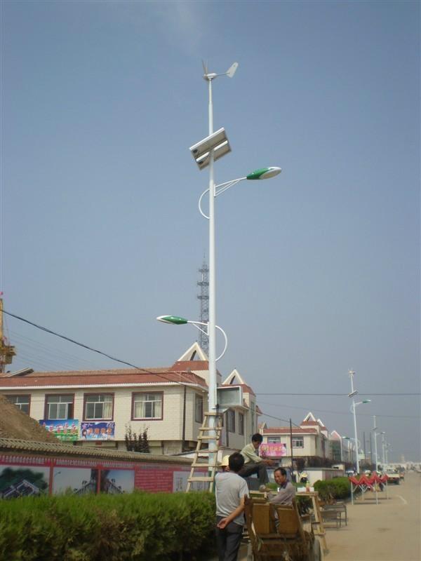 微风启动风力发电机 1