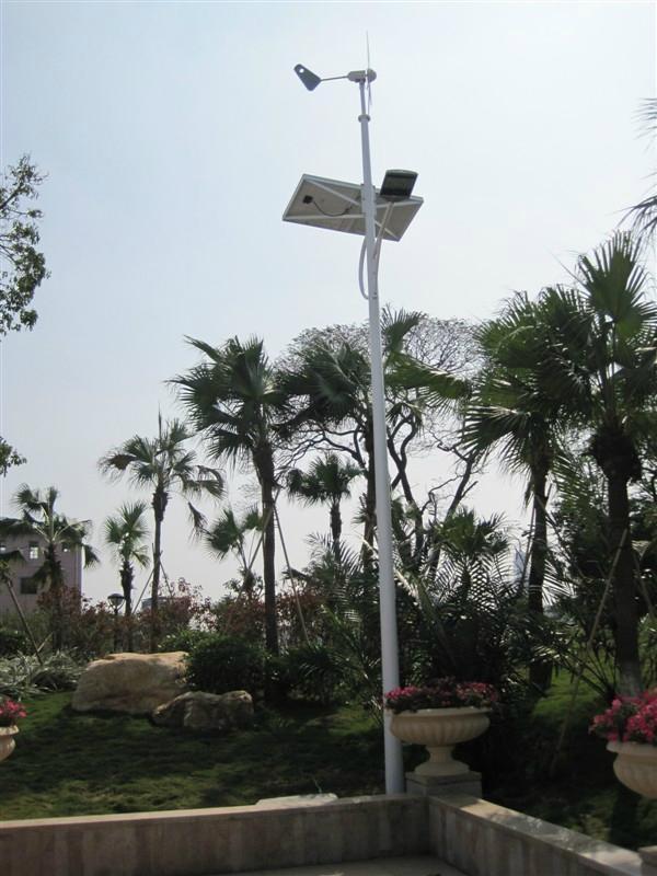 微风启动风力发电机 3
