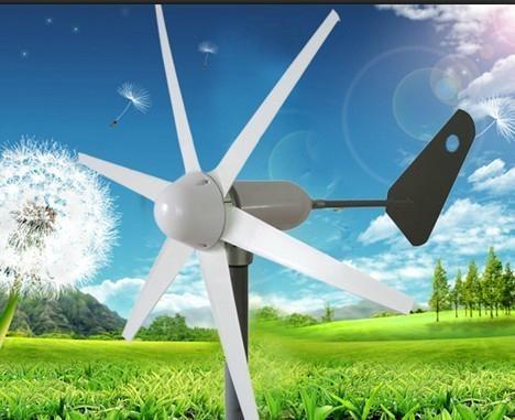 微风启动风力发电机 4