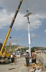 300W风光互补路灯专用垂直轴风力发电机