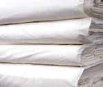 """家纺用纯棉坯布C60*40 173*124 110""""缎条"""