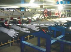 Latex Glove Production Line Dipping Machine Equipment Production Line