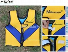 QP6504 Kids Custom Neoprene Life Jacket Life Vest