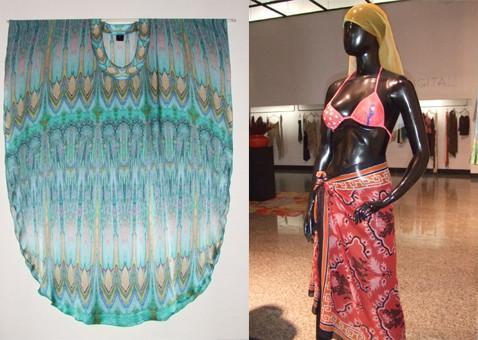 裙子数码印花 1