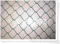 供应各种规格PVC包塑勾花网