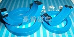 Nanocrystalline clamp core.