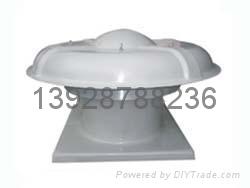 广东玻璃钢轴流屋顶通风机 1
