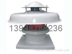 广东玻璃钢轴流屋顶通风机 2