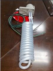 spiral Single-tube Teflon (PTFE) Heaters