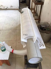 Fluoropolymer coil
