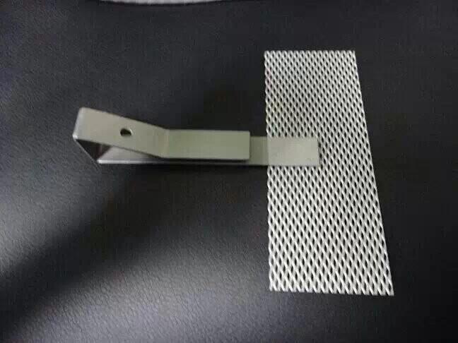 Platinum titanium mesh 1