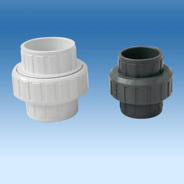 PP\PVC\PVDF弯头,球阀,活接,直通,三通,螺丝 3