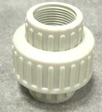 PP\PVC\PVDF弯头,球阀,活接,直通,三通,螺丝 4