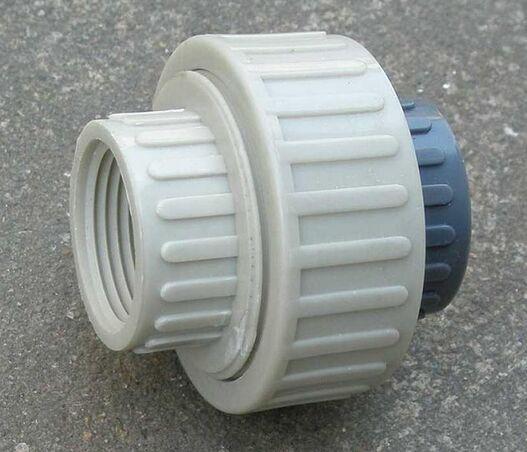 PP\PVC\PVDF弯头,球阀,活接,直通,三通,螺丝 5