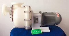 PVDF同軸自吸式耐酸碱泵