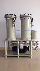 雙桶精密PP聚丙烯過濾機