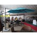 2.5米高檔戶外羅馬傘太陽傘 4
