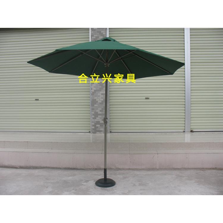 中柱鋁合金遮陽傘 1
