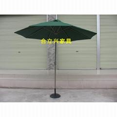 中柱鋁合金遮陽傘