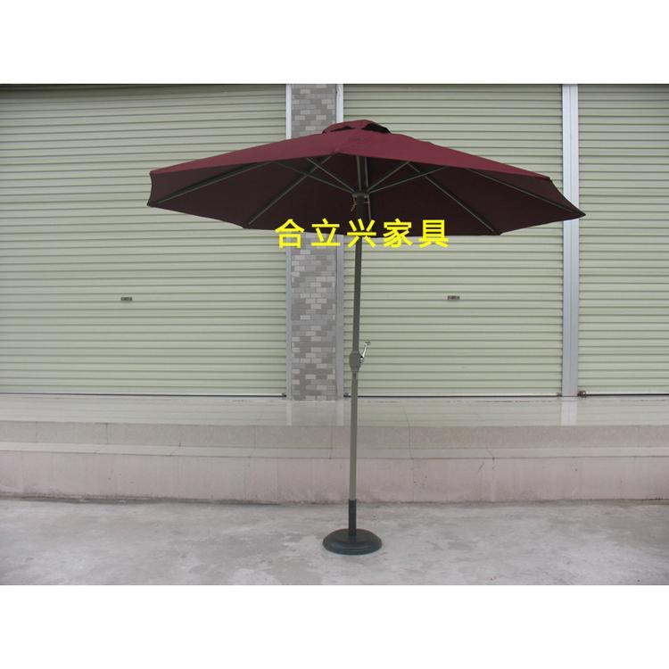 中柱鋁合金遮陽傘 2