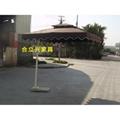 高檔遮陽側立太陽傘 3