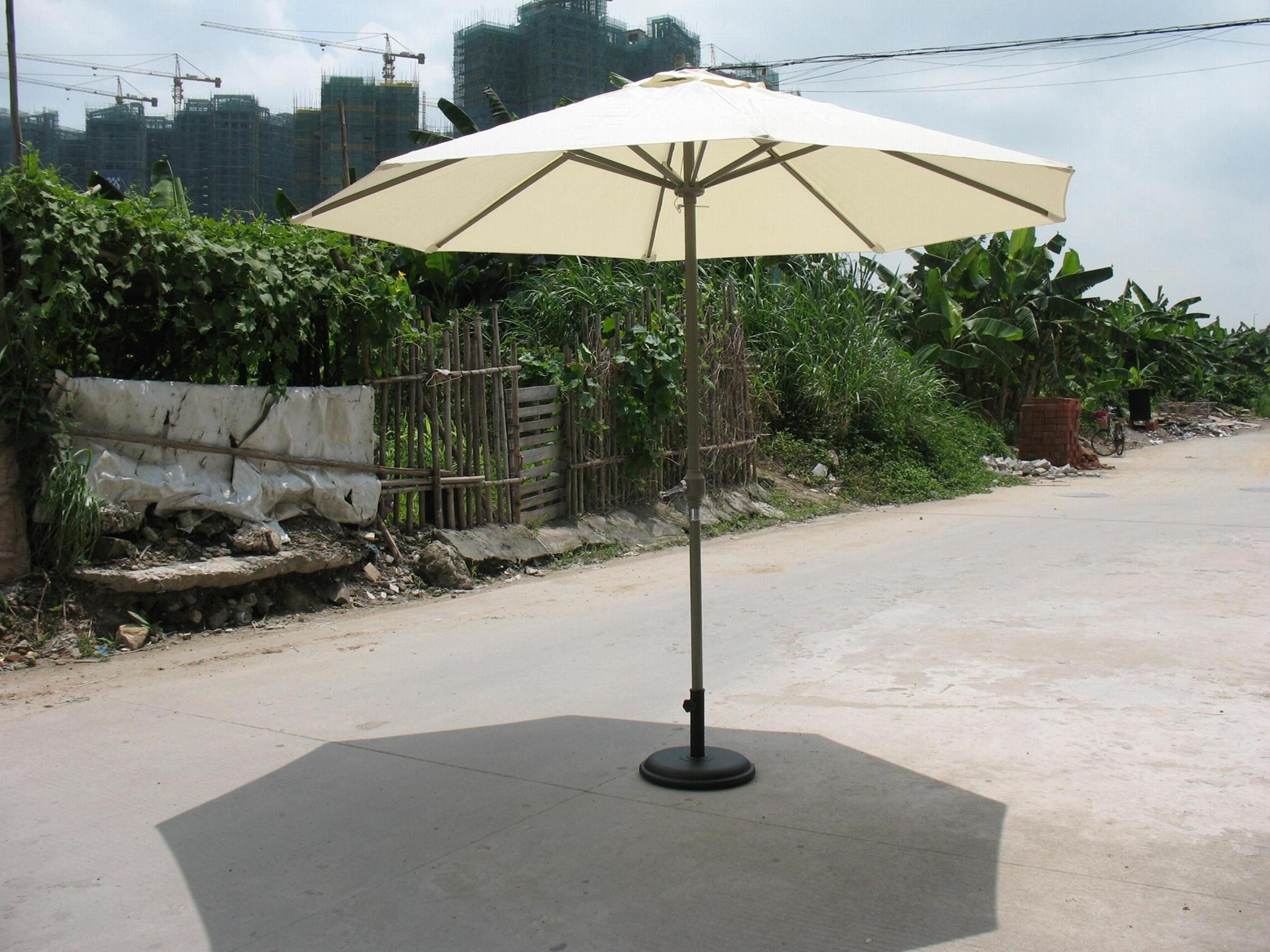 中柱鋁合金遮陽傘 3