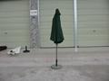 中柱鋁合金遮陽傘 5