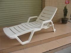 塑料休閑躺椅躺床