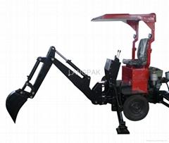 towable digging machine