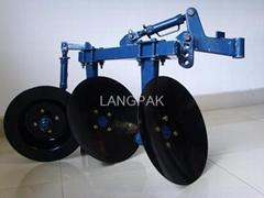disc plough for walking tractors