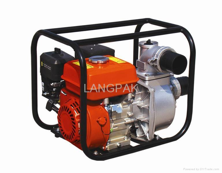 gasoline engine type water pump