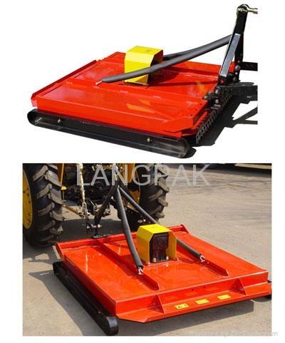 rear mounted topper mower 1