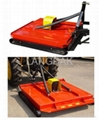 rear mounted topper mower