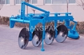 hydraulic disc plough
