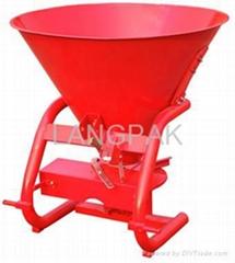 CDR fertilizer spreader