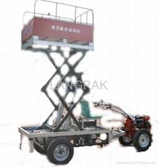 Multifunctional lifting platform power