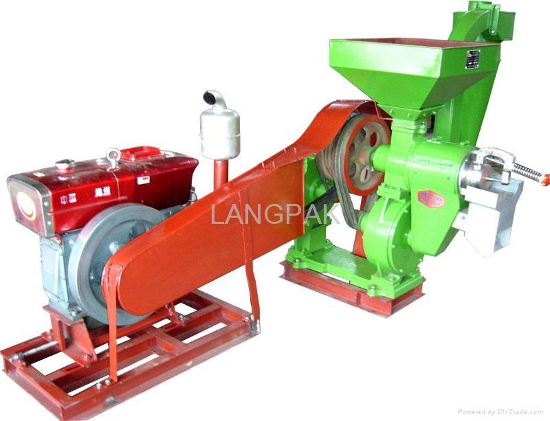 NPF series Double-Pipe Jet Rice Mill